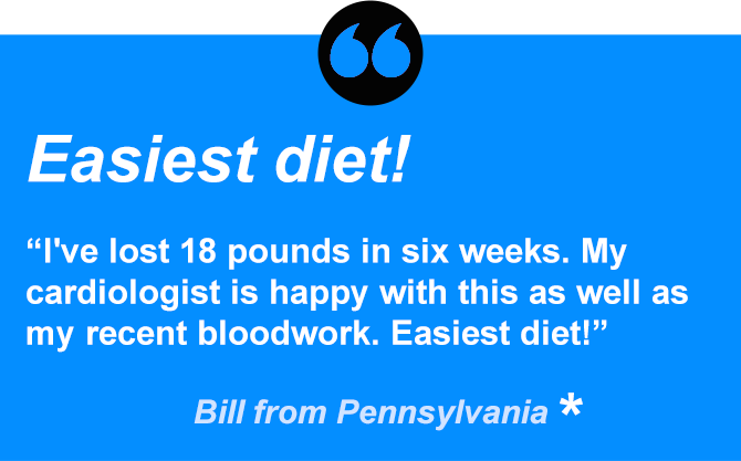 Bill has lost 18 pounds in 6 weeks.