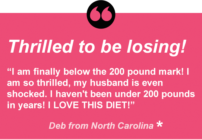 Deb is under 200 for the first time in years.