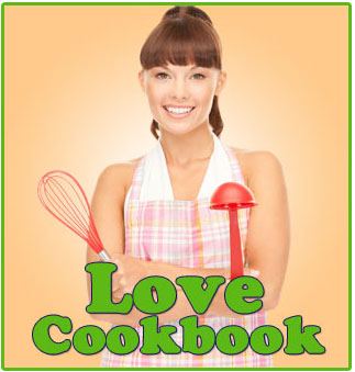 The Love Cookbook offers low calorie tasty recipes.
