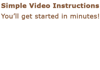 simple instructions for the diet include videos
