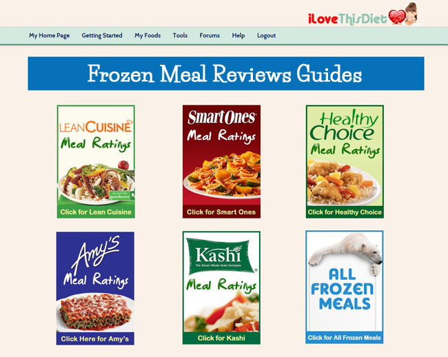 The review guides rate each meal by taste, nutrition, and how well they fill you up.