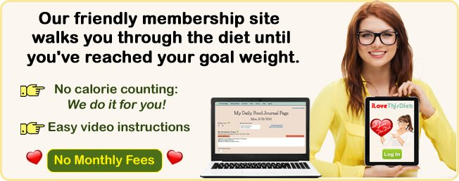 Best diet tools that provide online weight loss support for I Love This Diet.